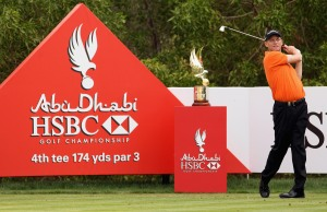 Mr Consistency at the Abu Dhabi Golf Club