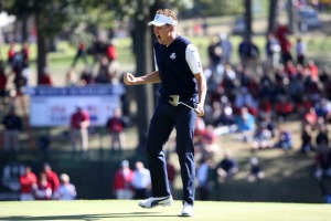 Mr Ryder Cup.  Mr Match Play.  Sir Ian Poulter
