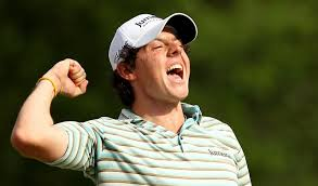 McIlroy winning here in 2010. More of that fist pumping this week please