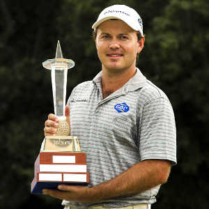 Sterne with the Joburg Trophy, he will want to get his paws on another