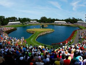 The iconic 17th at TPC Sawgrass
