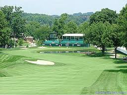 The very long and challenging Firestone Country Club course