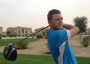 Doesn't that driver look absolutely huge? Hansen will be swinging it violently all week
