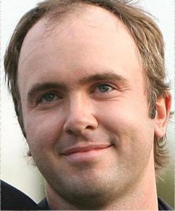 Martin Laird has a really odd forehead...
