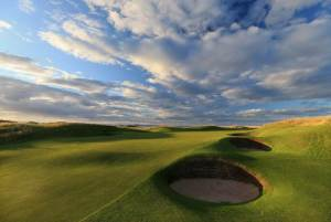 The 13th. A good look at some of the tough bunkers out there