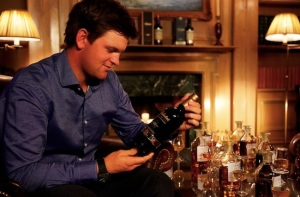 Wiesberger is also a Whiskey connoisseur. He created his own blend for Ballentines last year. Lad