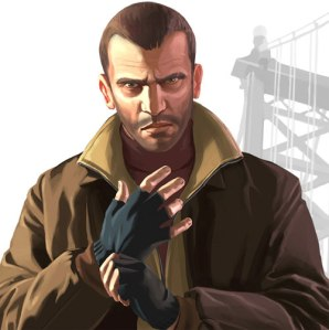 Michael Hollick was the voice of Niko in GTA4. Not THE Michael Hollick of course, he resides on this course...