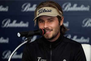 We forgot to say, Dubuisson has an immaculate hair piece.  Gorgeous flocks. (lets hope he doesn't play with Haas because he will be BEYOND jealous)