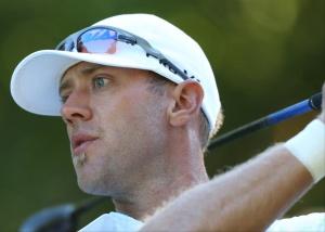 A set of the fiercest eyes in golf.
