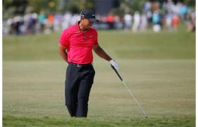 Tiger Woods struggled with back pains at the Arnold Palmer Invitational.  He subsequently withdrew