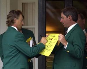 Two former Masters champions. Two friends. Two Geniuses. Two stalwarts. Two future major champions? Too ridiculous...
