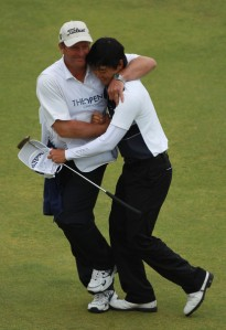 We didn't mention that Jin Jeong also won the silver medal for high amateur at the 2009 Open...Talent