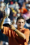 Ben Curtis winning The Open. That was a genuine shock.  Photo by Nicolas Asfouri, GettyImages