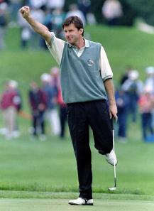 Ryder Cup legend - Sir Nick Courtesy of Golf.com