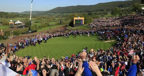 Incredible Ryder Cup scenes here in 2010 - courtesy of skysports