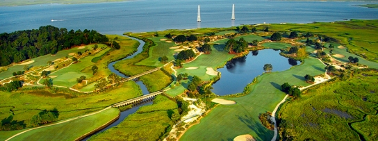 This aerial view shows exactly what he course is about - courtesy of seaisland.com
