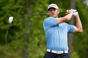 Shawn Stefani showing his prowess off the tee Scott Halleran/Getty Images North America