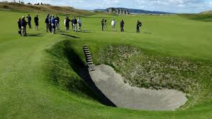 That looks like a fun bunker doesn't it?