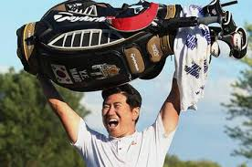 Unreal moment.  Courtesy of http://www.standard.co.uk/sport/call-from-president-caps-ye-yang-s-title-celebrations-6778265.html